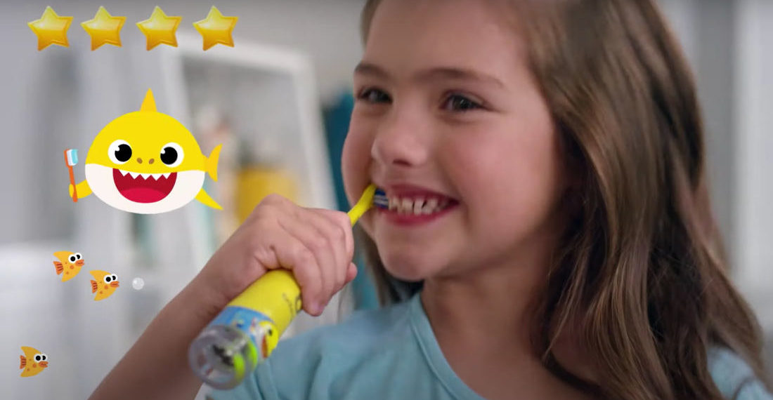 Finally, A Children's Toothbrush That Sings 'Baby Shark'