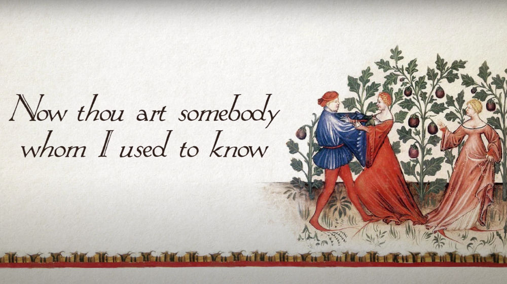 Gotye's 'Somebody That I Used To Know' Gets The Bardcore/Medieval Song Treatment