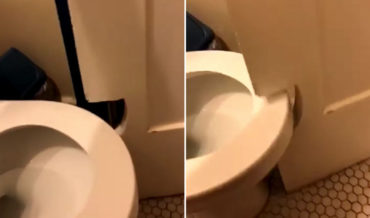 Problem Solving: Hole Cut In Bathroom Door So It Can Swing Past Toilet