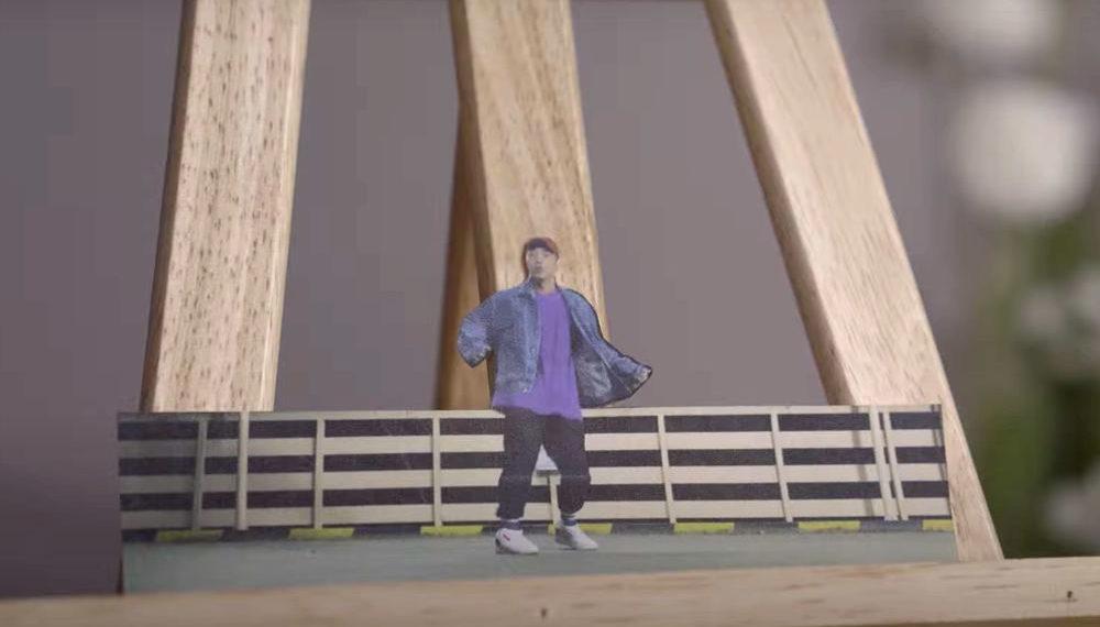 A 1,400 Piece Cut Paper Stop-Motion Dance Video
