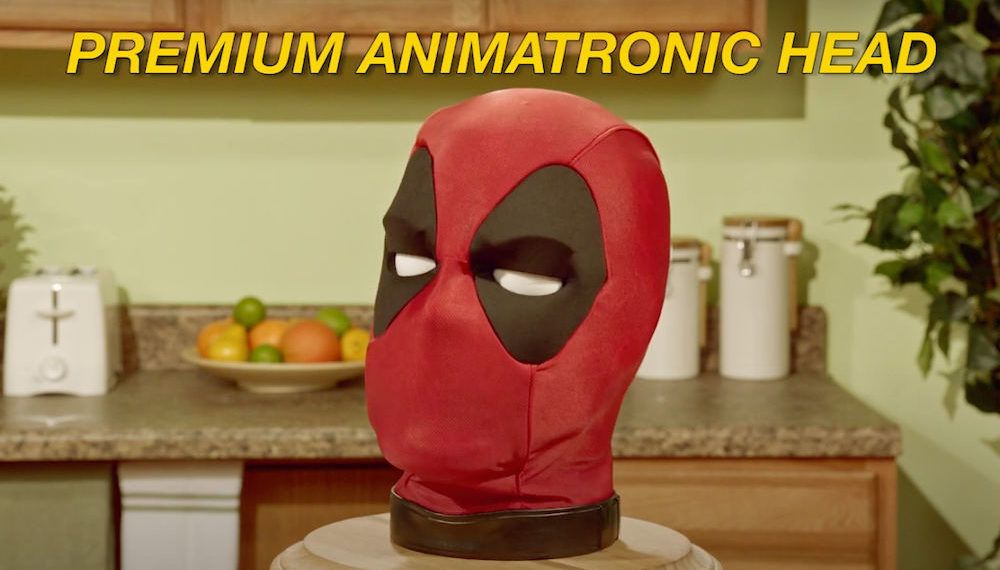 Hasbro Releasing Life-Size Interactive Deadpool Head