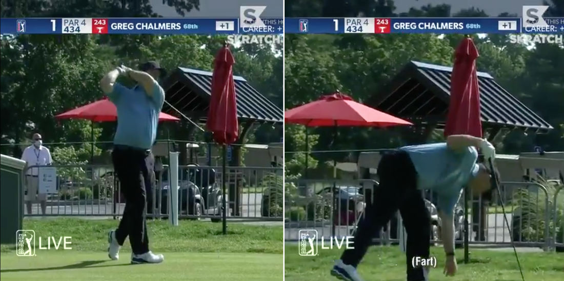 Hole In One: Golfer Rips Fart Into Swing Mic During Tee Off