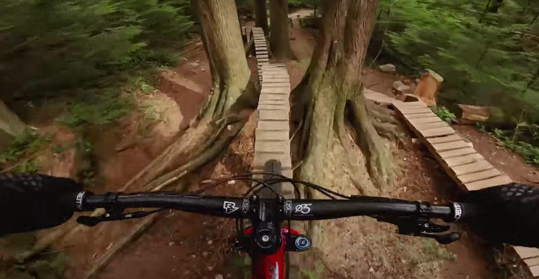 So Narrow: 'GoPro Of The World' Winning Bike Run