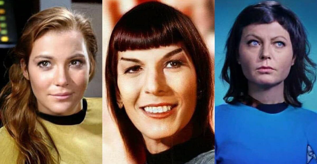My My: Star Trek Original Series Kirk, Spock & McCoy Reimagined As Women