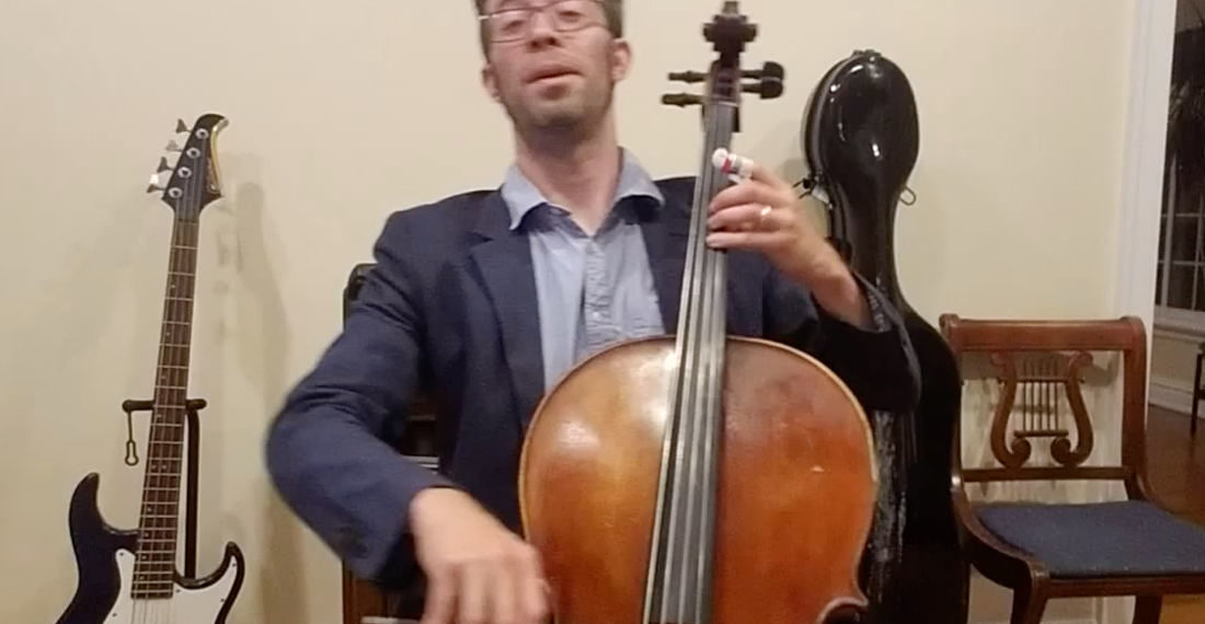 Well That Was Lovely: Cellist Performs Willy Wonka's 'Pure Imagination'