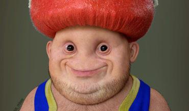 Good Lord: Artist Imagines Real-Life Super Mario Toad