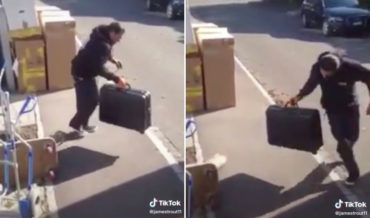 Oh Wow: This Guy's Incredibly Impressive Mime Routine With A Suitcase