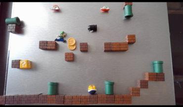 Super Mario Bros Fridge Magnet Stop Motion