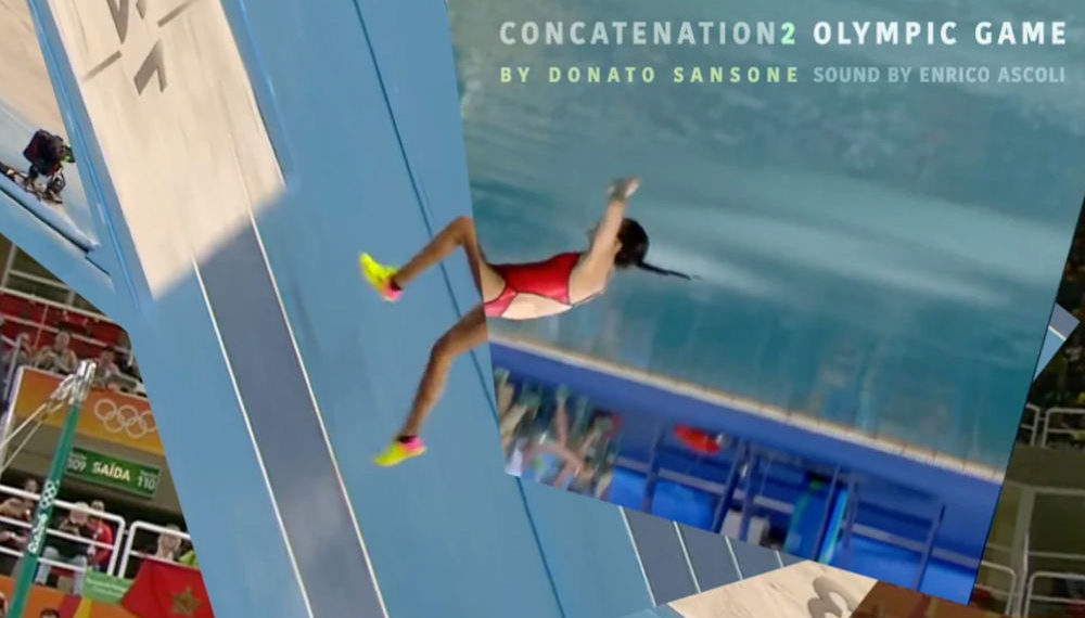 Trippy Video Of Olympic Athletes Blending Into One Another