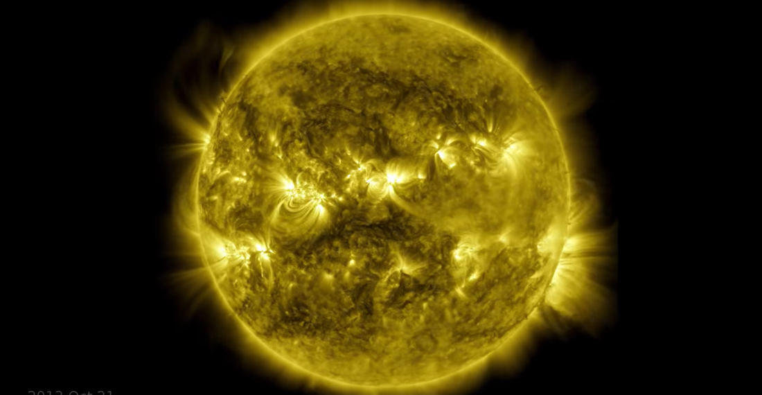 NASA Releases A Ten-Year, One Second Per Day Timelapse Of The Sun