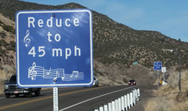 New Mexico Route 66 Rumble Strip Plays 'America The Beautiful'