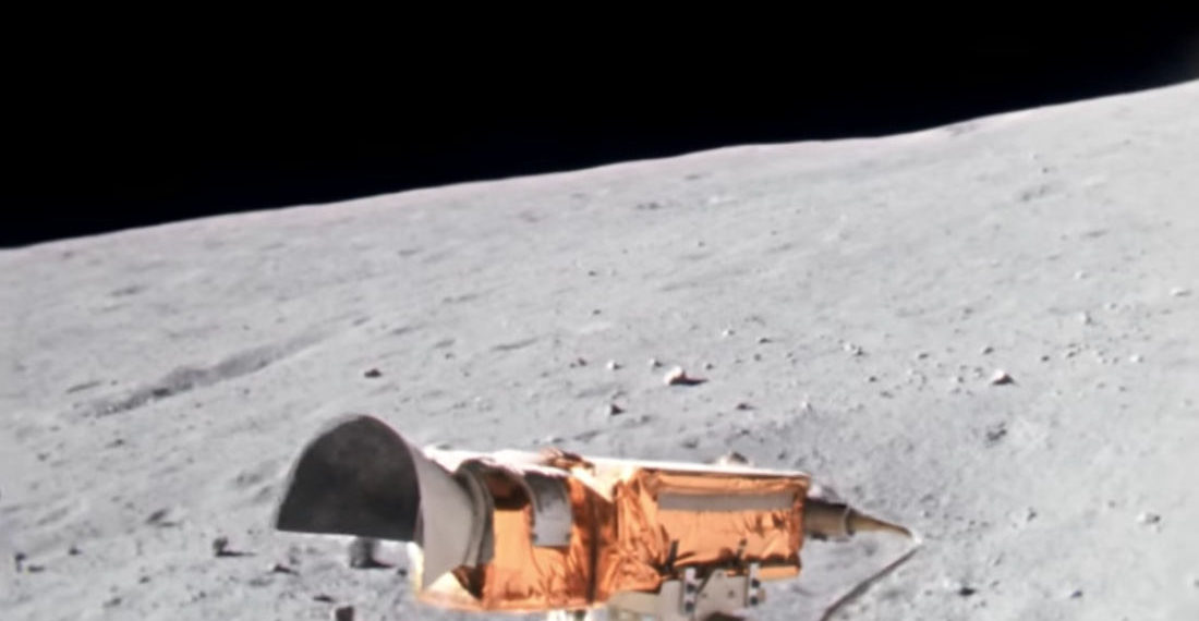 Apollo 16 Lunar Rover Ridealong Upscaled To 4K, 60FPS