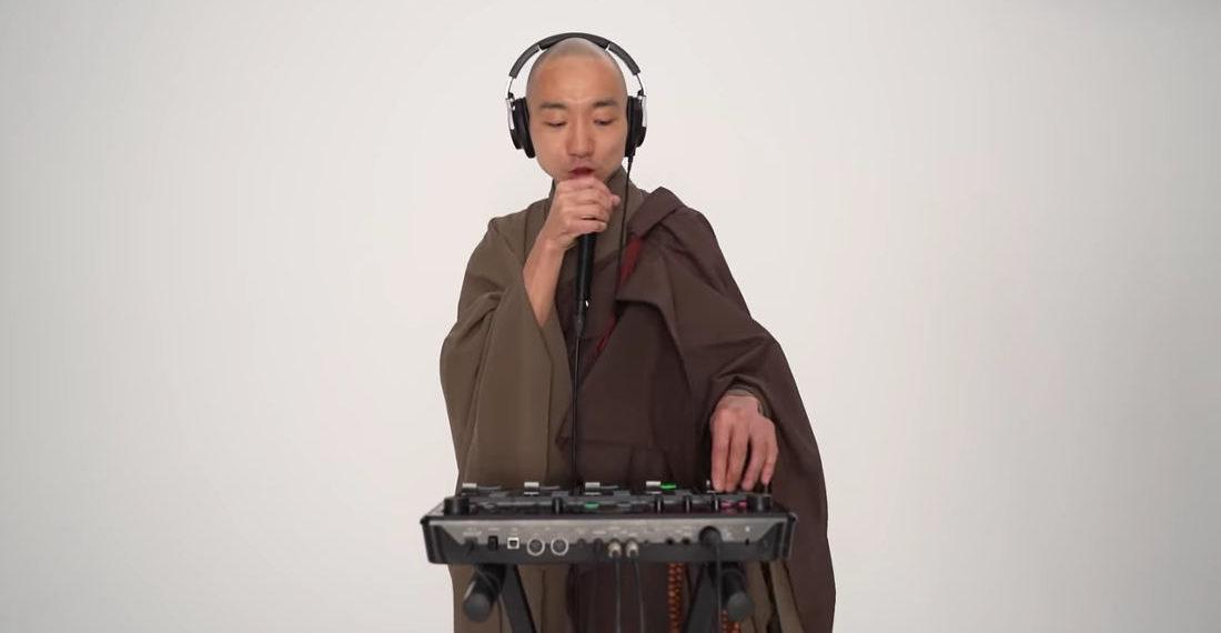 Beatboxing Buddhist Monk Performs Loop Machine Chant Remix