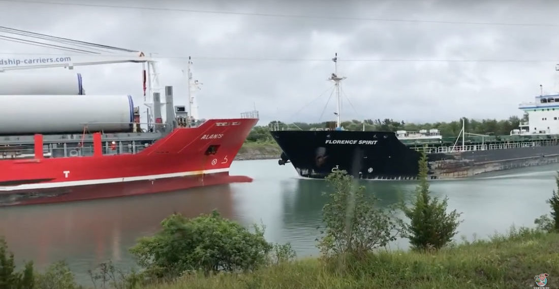You Did It Wrong: Two Large Cargo Ships Ram Each Other In Canal