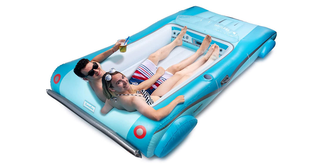 Finally, A Decent Convertible Car Inflatable Pool Float