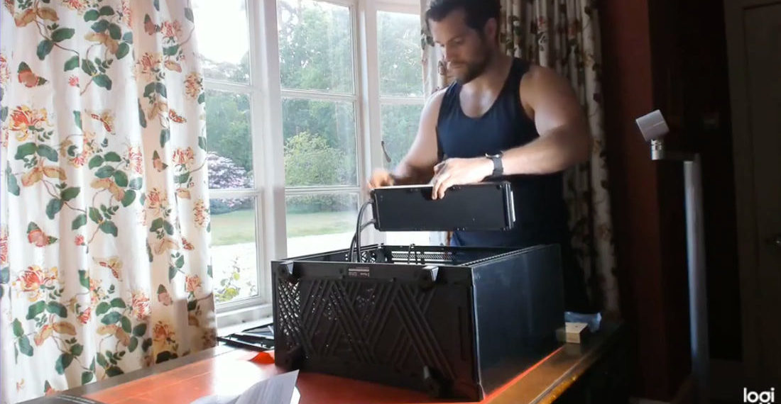 Video Of Henry Cavill Building Himself A Gaming Computer