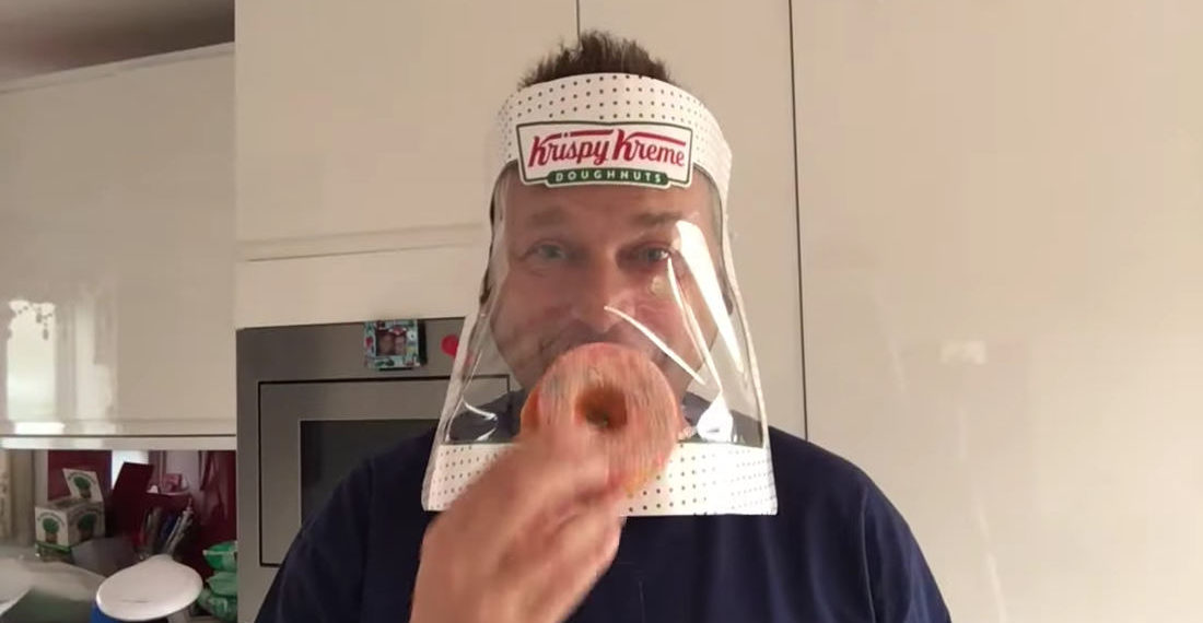 Valuable Info: How To Make A Face Shield From A Krispy Kreme Doughnut Box