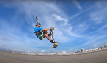 I Did Not Know That Was A Thing: Kite Landboarding
