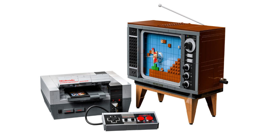 LEGO x Nintendo Releasing Official NES System Build Set With Retro Television