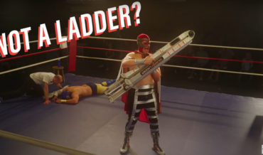 WTF Was That?: Wrestling Commercial For Ultra-Collapsable Ladder
