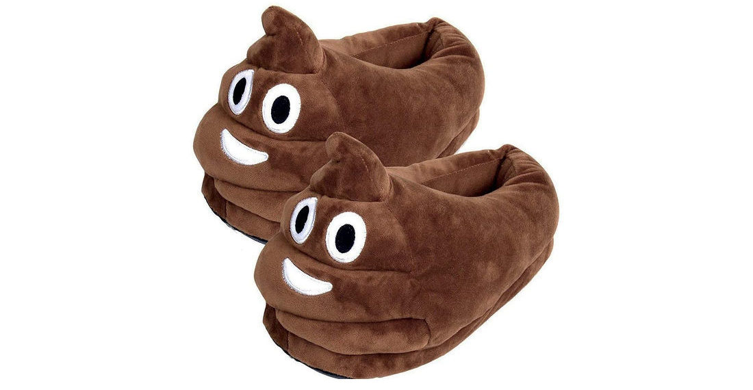 Finally, Some Well Reviewed Poop Emoji Slippers