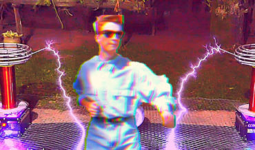 Rickzapping: Rick Astley's 'Never Gone Give You Up' Performed On Tesla Coils