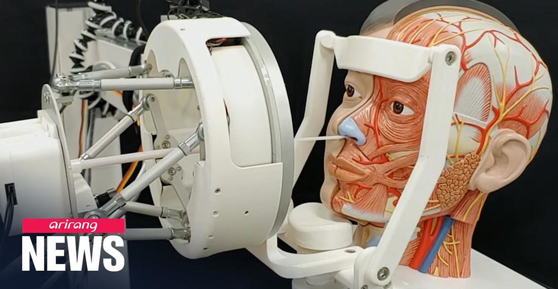 Remotely Operated Robot Developed For Jamming COVID-19 Test Swabs Up Noses