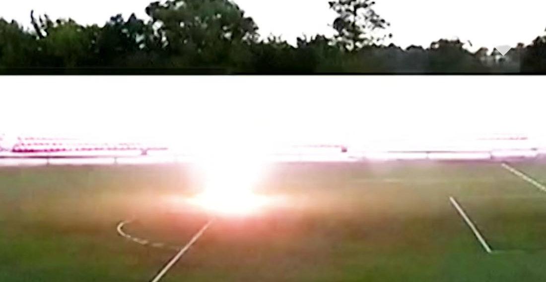 Holy Smokes!: Soccer Goalie Gets Struck By Lightning