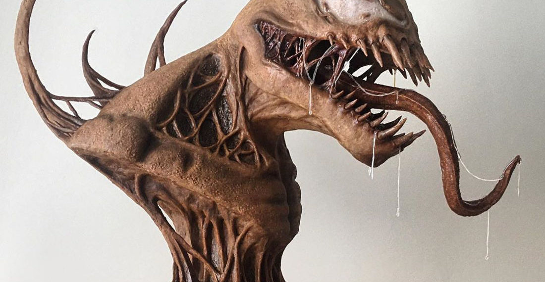 Holy Smokes!: This Entirely Edible Gingerbread Venom Bust