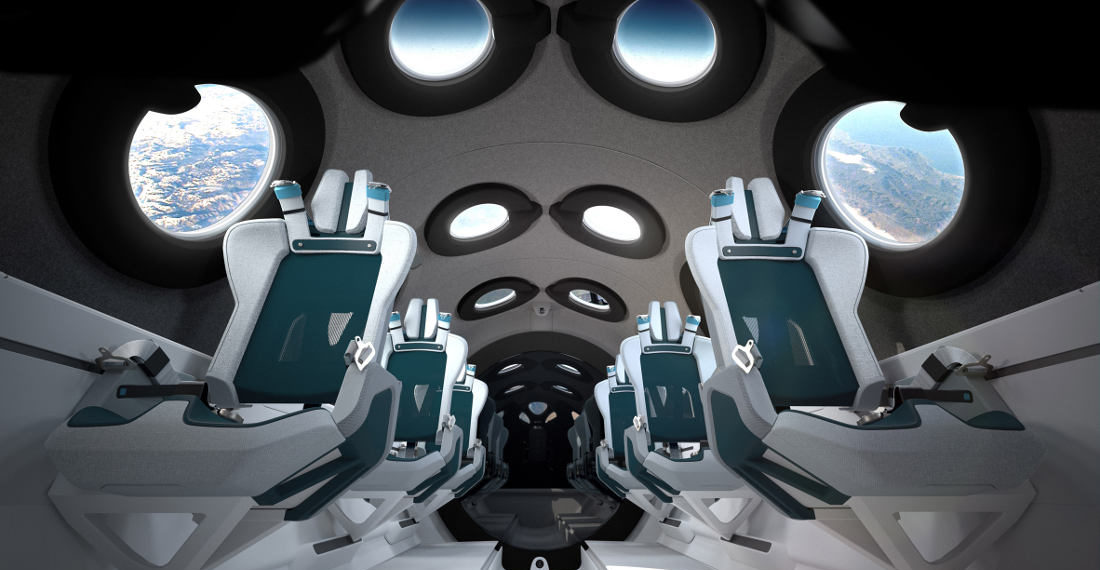 I'm Floating Jack!: Virgin Galactic Unveils Spaceship Interior
