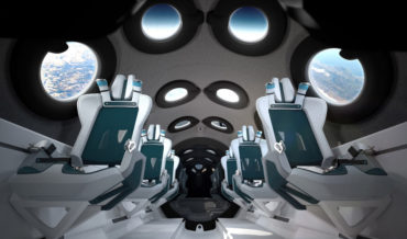 I'm Floating Jack!: Virgin Galactic Unveils Spaceship Interior