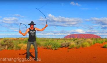 Australian Performs Whip-Cracking Routine To The Tune Of 'Cotton-Eyed Joe'