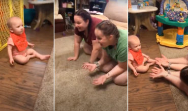 Double Vision: Baby Can't Tell Mother From Her Twin Sister