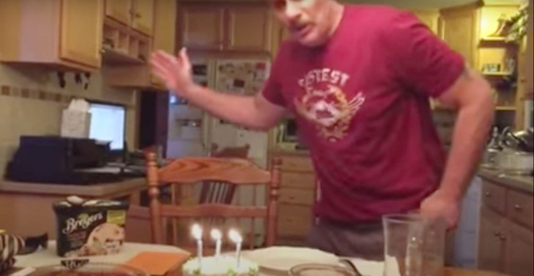 How To: Extinguish Your Birthday Candles Without Spitting All Over The Cake