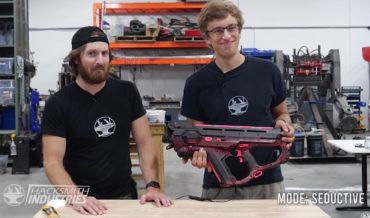 Guys Make Screaming NERF Gun Inspired By The Screaming Gun From Borderlands 2