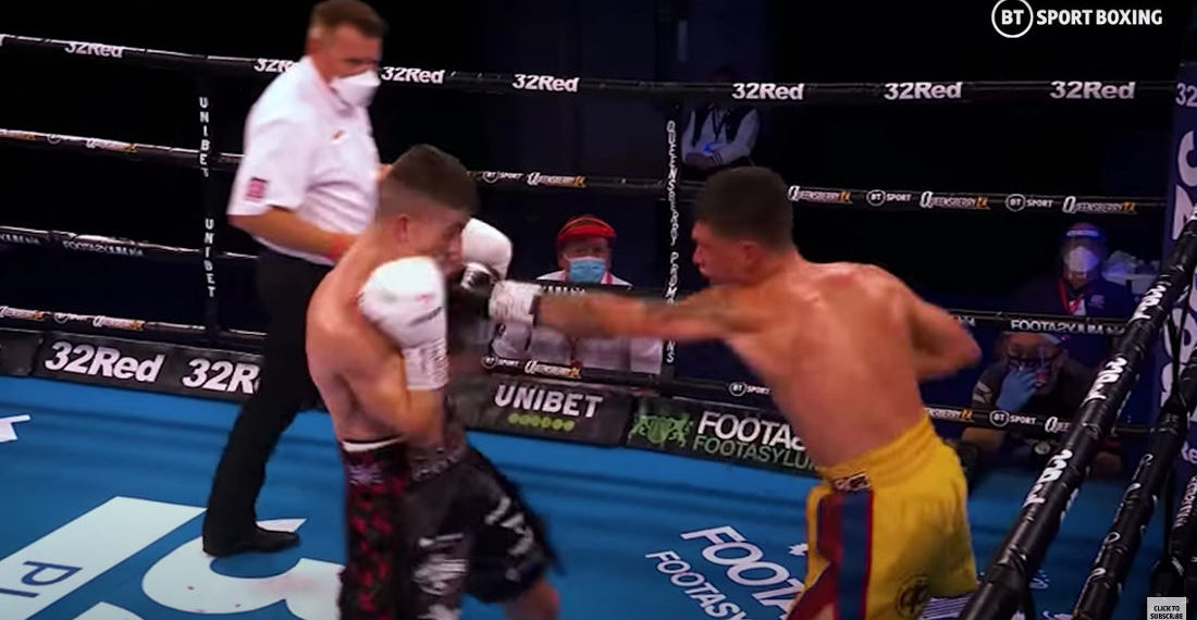 The Sounds Of Boxing Matches With No Audience