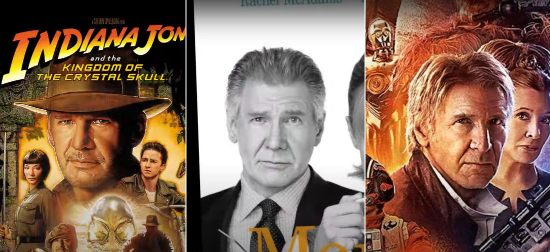 Animation Of Actors Turning Their Heads Using Only Movie Posters They Appear On