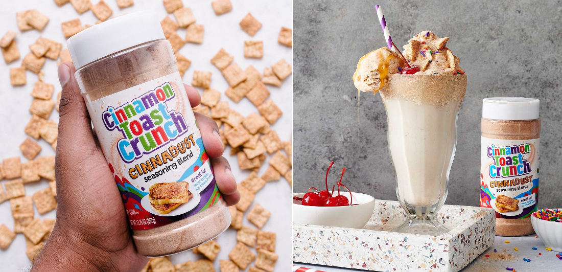 Cinnamon Toast Crunch Dust Topping, 'Cinnadust', Available Soon