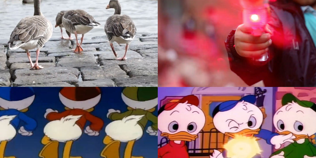 DuckTales Intro Recreated Using Only Stock Footage