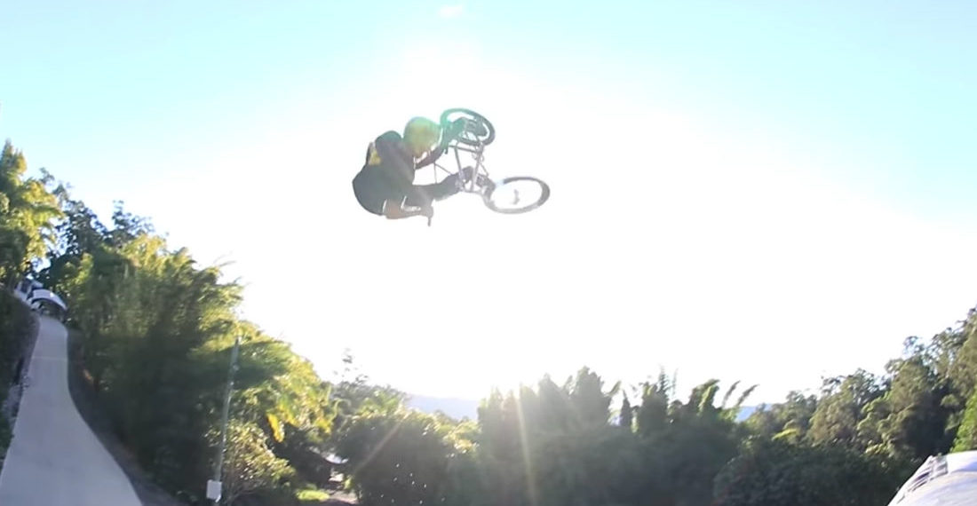 So Much Spinning: The World's First BMX 360 Double Backflip Tailwhip