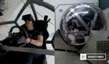 I Feel Sick Already: An Untethered 360-Degree Virtual Reality Motion Platform