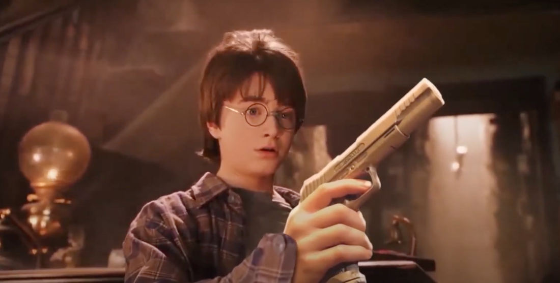 Harry Potter And The Deathly Weapons: Harry Potter Edited With Guns