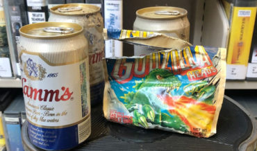 30-Year Old Beer Stash Discovered Behind Shelving At Library