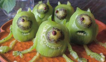 Okaaaaay: Terrifying Mike Wazowski Kiwis (Mike Wazowskiwis)