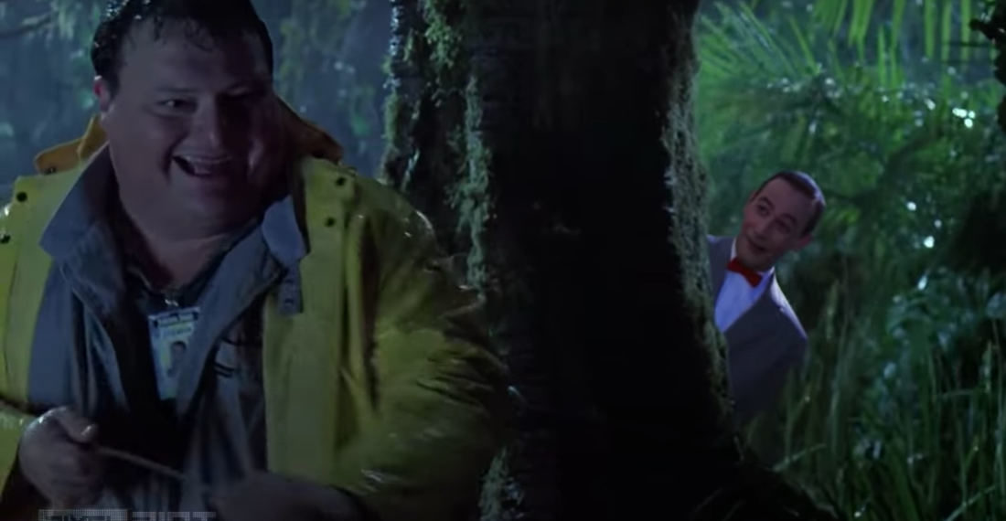 Finally, A Pee-Wee's Big Adventure/Jurassic Park Mashup Horror Trailer