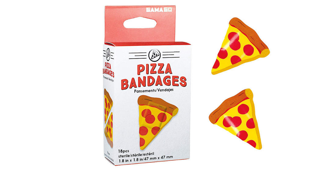 Finally, Some Decent Pizza Slice Band-Aids