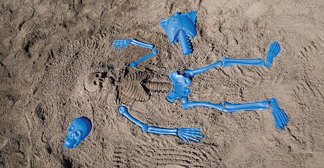 Finally, Some Decent Life-Size Human Bone Molds For Making Skeletons At The Beach