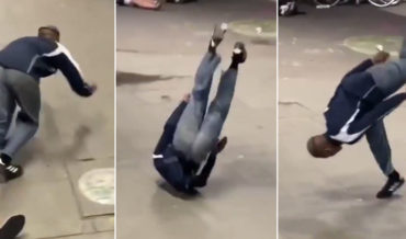 What The?: Man Makes Smoothest Skateboard Recovery Ever After Fall