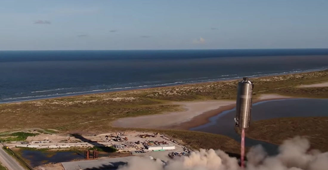 SpaceX Successfully 'Hops' Prototype Starship Rocket From One Pad To Another