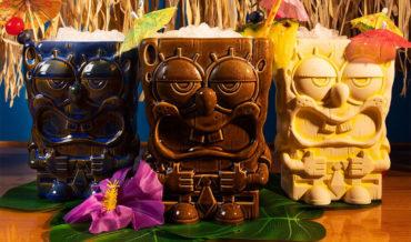 The Perfect Match: SpongeBob And Patrick Tiki Mugs